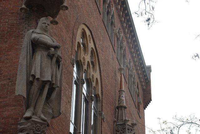Admirando Sant Pau desde la cola
