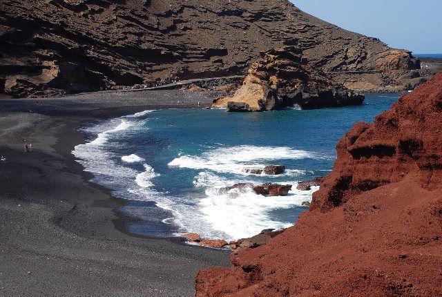 Playa de la laguna de los Clicos