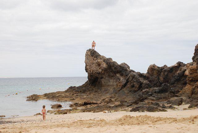 La salvaje playa del Papagayo