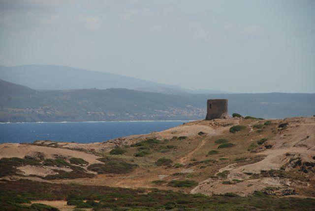 Torre aragonesa cerca de Bosa