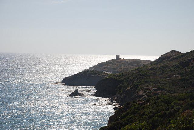 El accidentado litoral de la costa oeste sarda