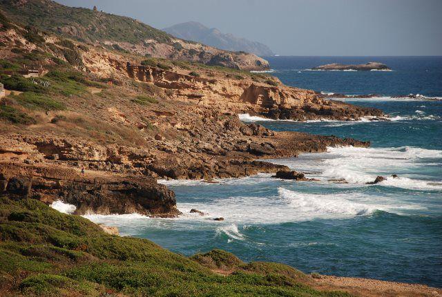 La magnífica carretera de L'Alger a Bosa