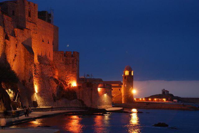 Los imponentes muros de la fortaleza