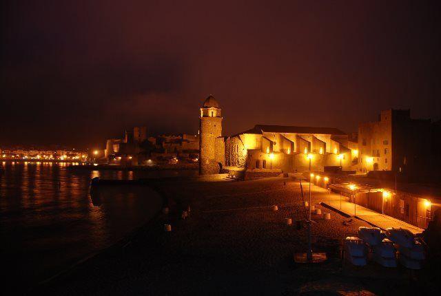 Paseo nocturno por Collioure