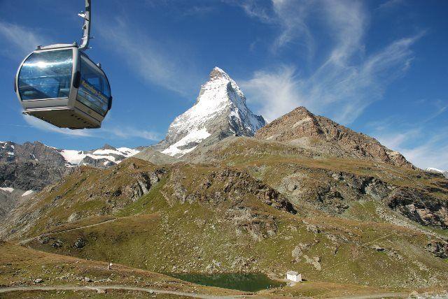 El teleférico del Matterhorn Express