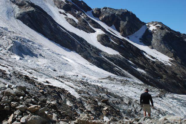 Glaciar Trift en Hohsaas