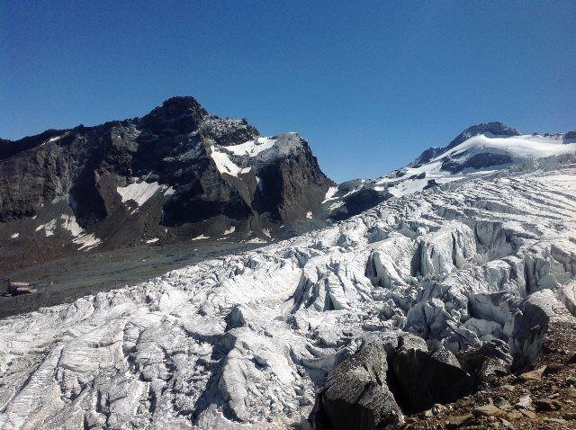El glaciar Fee