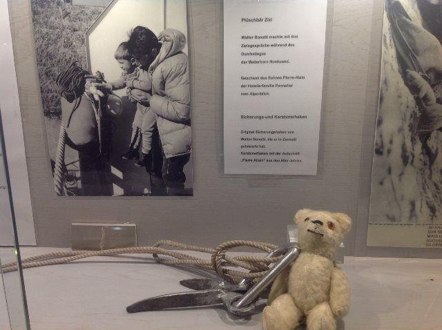 El museo es un homenaje a los alpinistas