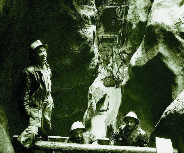 Trabajadores de la Grande Dixence