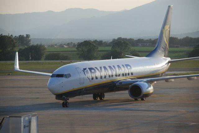Ryanair en Fertilia