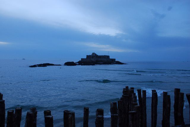 La hora azul en Saint Malo
