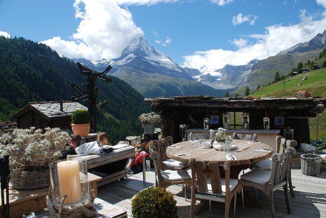 Los mejores restaurantes de Zermatt