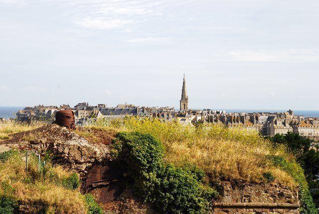 Posición defensiva nazi en Saint Malo