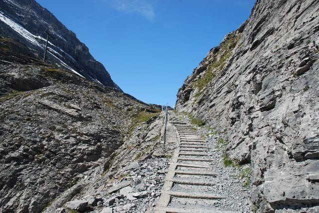 Escalones del Gemmiweg