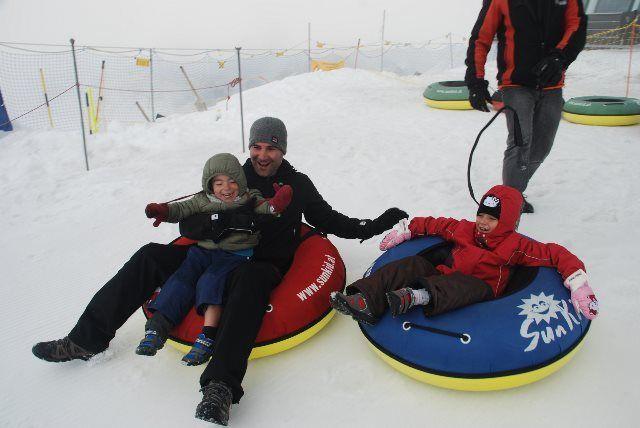Snow-Tubing en Matterhorn Glacier Paradise