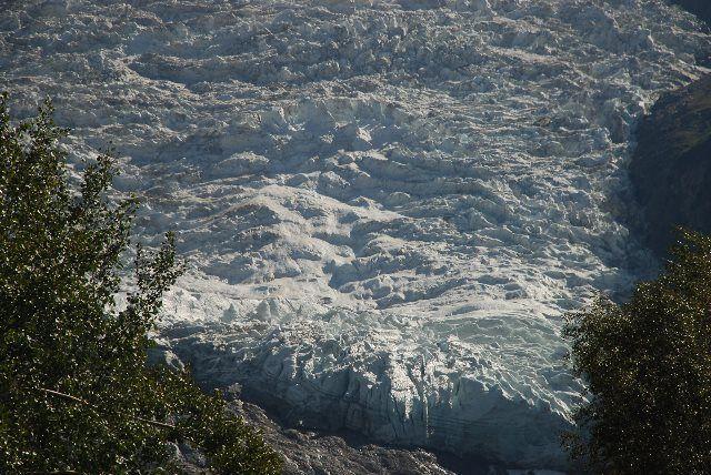 El mar de hielo desde la autovía