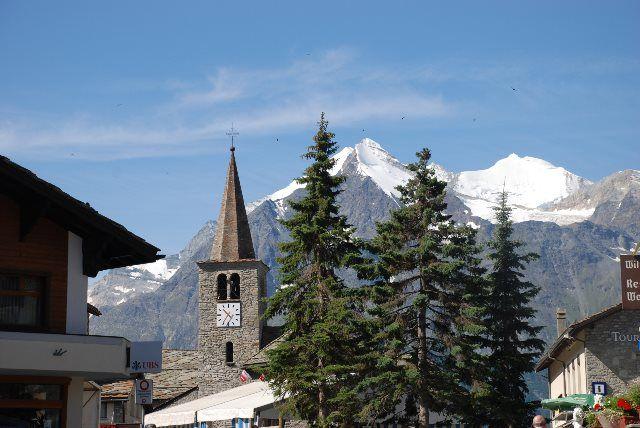La iglesia de Grächen