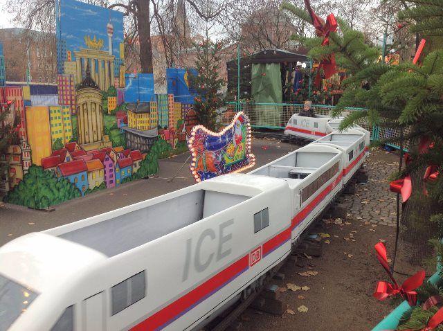 Atracciones para niños en el Mercado de Navidad de Mannheim