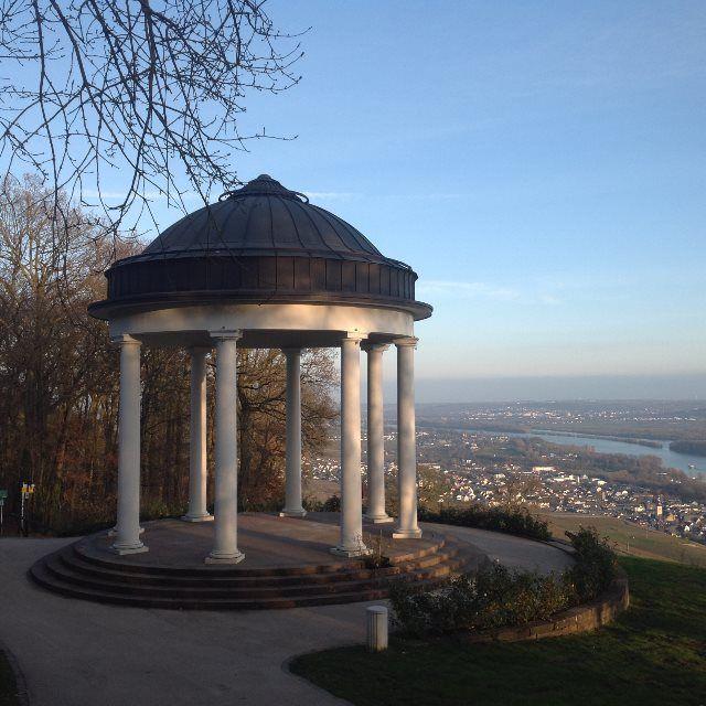 Uno de los miradores de Rüdesheim