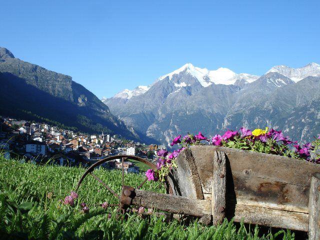 Graechen, un lugar idílico en los Alpes suizos