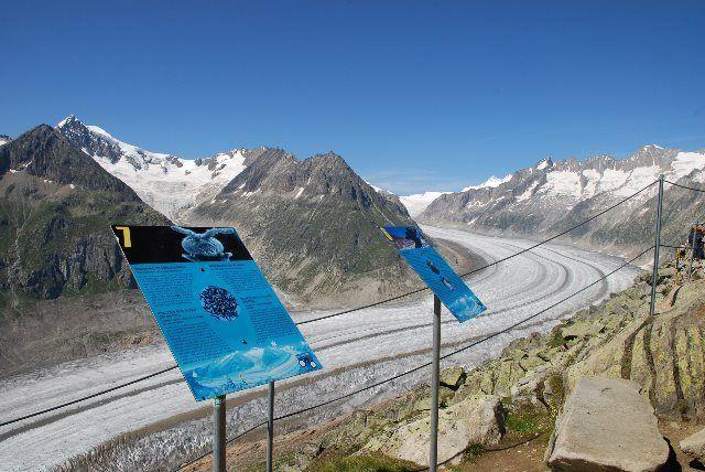 Conociendo el glaciar Aletsch