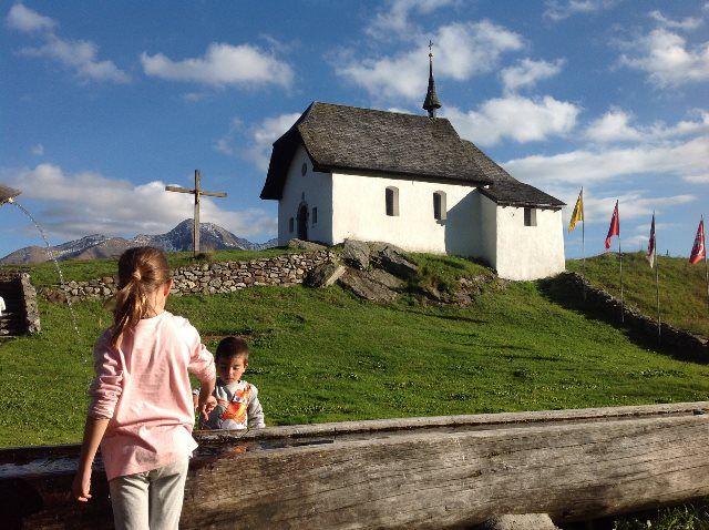 Imagen de postal suiza