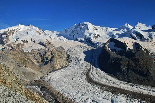 El glaciar Gorner