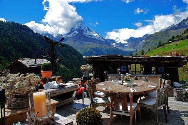 La terraza del Chez Vrony