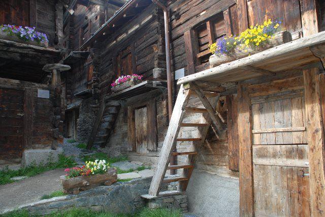 Casco viejo de Zermatt