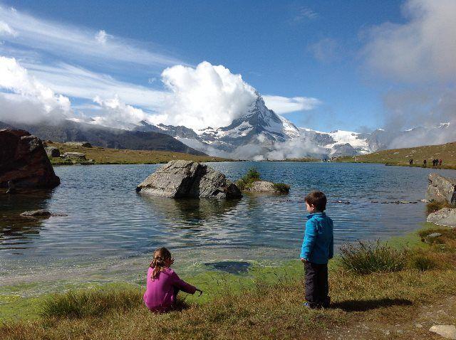 Sunnegga Paradise y los reflejos del Matterhorn