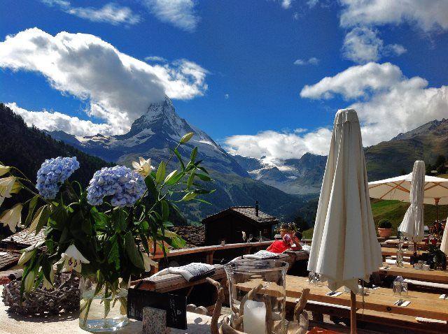 Chez Vrony: el templo gastronómico de Zermatt
