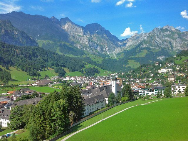 Engelberg desde el Brunni