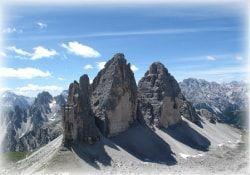 paisaje de los alpes italianos