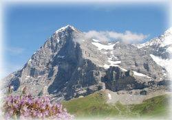 paisajes de los alpes suizos