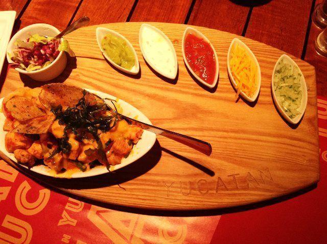 Cena en el Yucatan