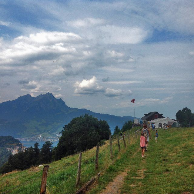 En la cima de Bürgenstock