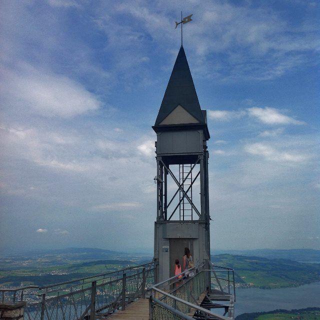 La pasarela del Hammetschwand