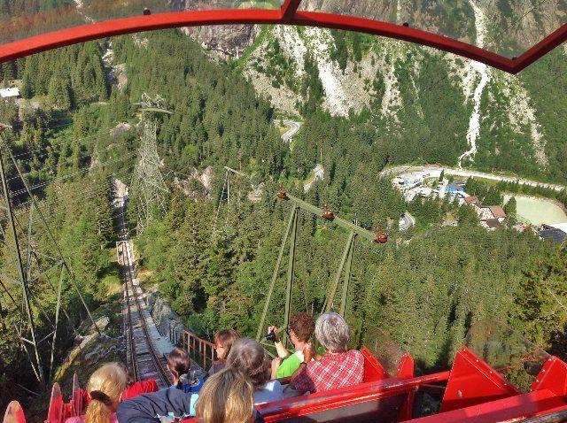 Funicular de Gelmer: montaña rusa en los Alpes