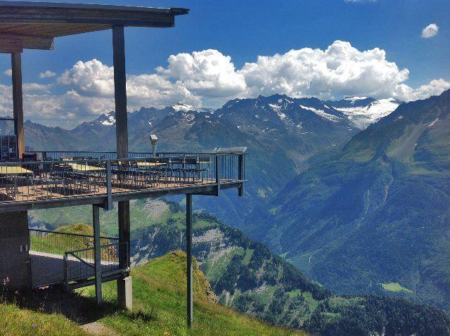 El restaurante Alpen Tower
