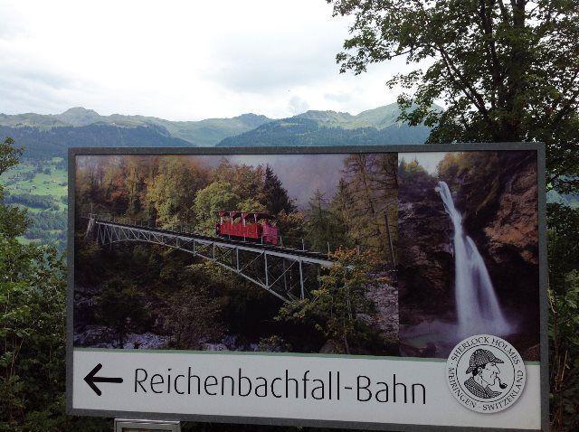 Publicidad de Reichenbachfall