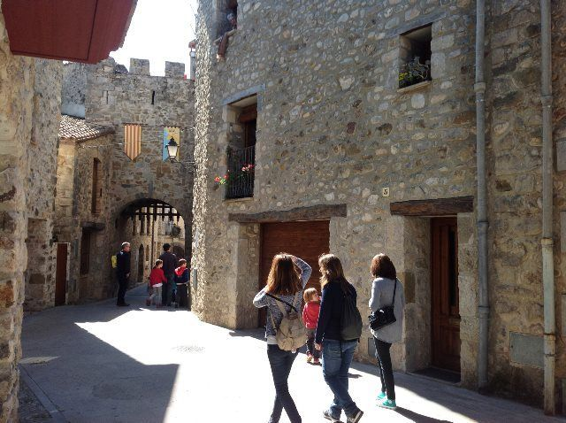 Casco medieval de Sant Llorenç de la Muga