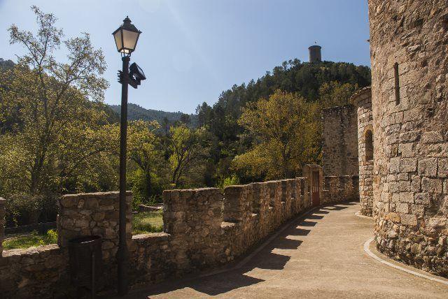 Las murallas de Sant Llorenç de la Muga
