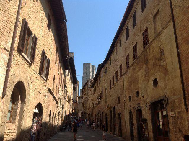 Calles de San Gimignano
