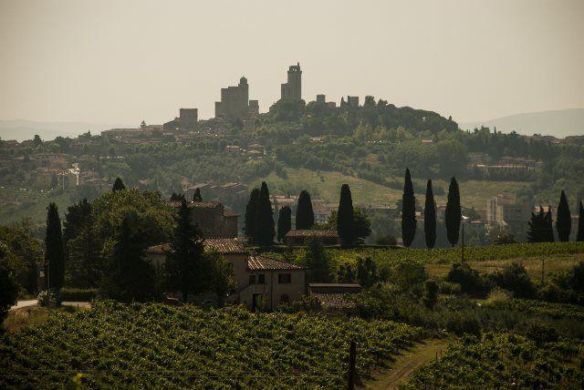 Panorámica de San Gimignano