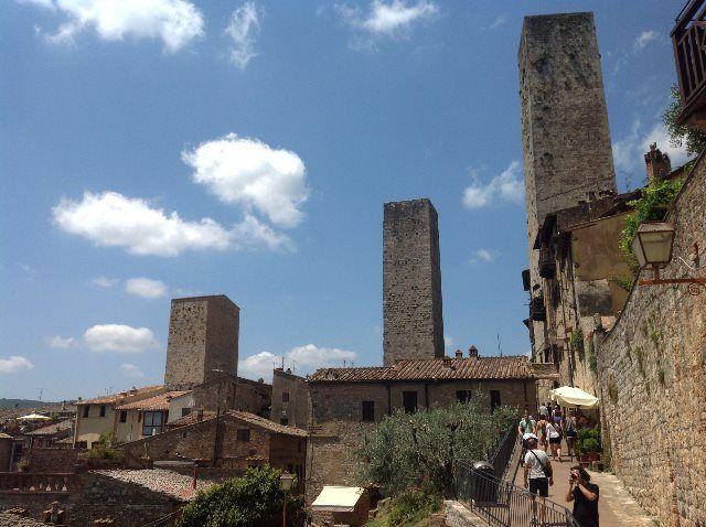 Rascacielos de San Gimignano