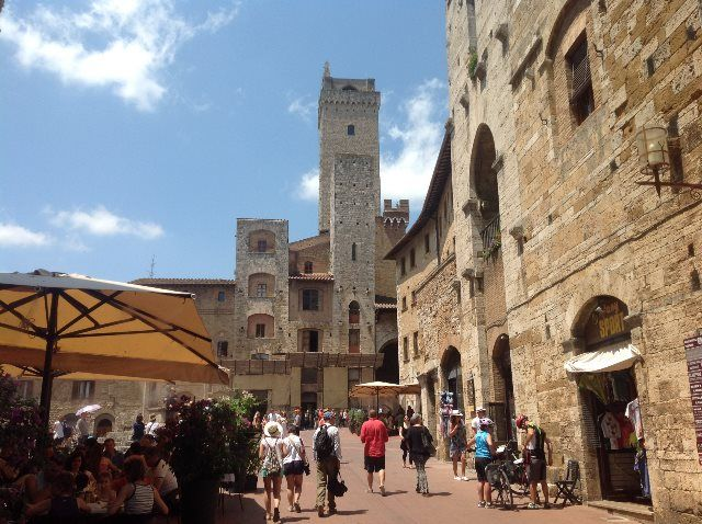 San Gimignano, joya de la Toscana