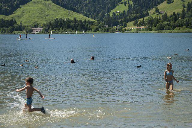 Baño en el lago Negro