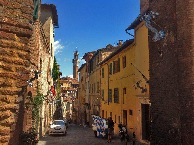 Contrada de Onda, Siena