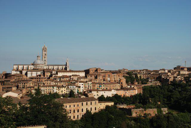 Panorámica de Siena desde la Fortezza Santa Barbara