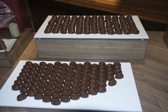 Cata de bombones en la fábrica de chocolate